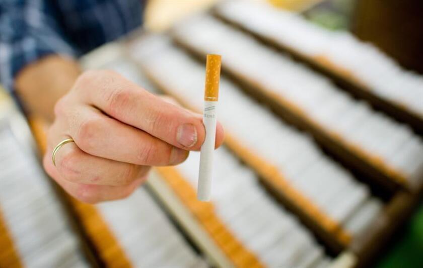 Fotografía disponible que muestra unos cigarrillos. EFE/Archivo