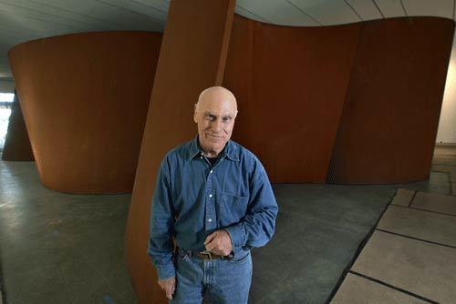 A sculptural ramble with Richard Serra