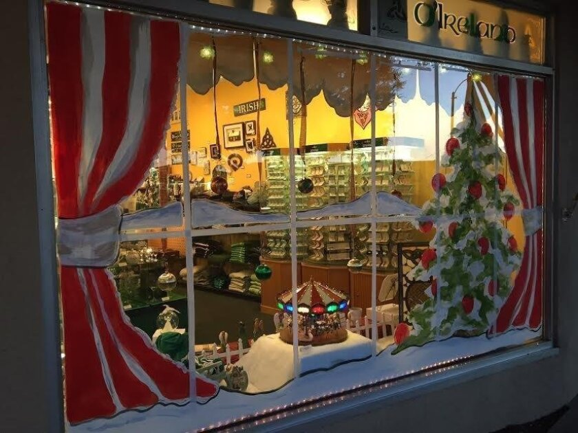 Vote on your favorite Holiday window display in downtown Carlsbad.