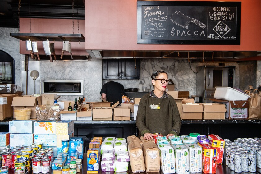Nancy Silverton at Chi Spacca