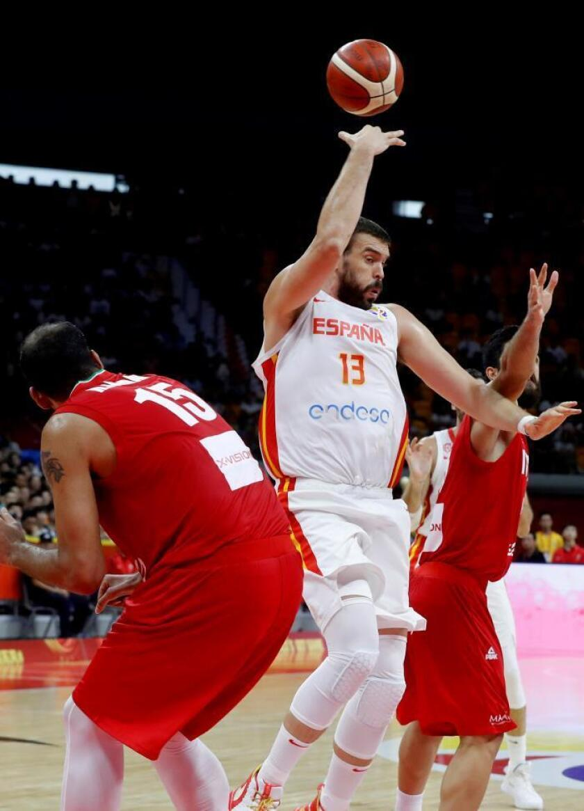 73-65. España prolonga su jet-lag