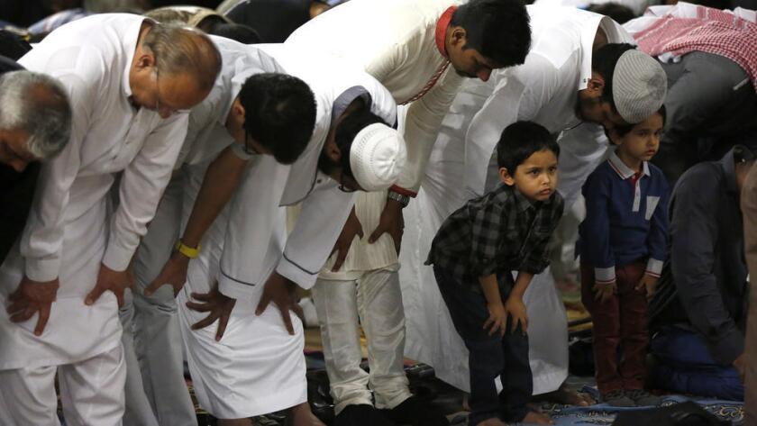 Foto de archivo de la comunidad musulmana en California. Mark Boster / Los Angeles Times