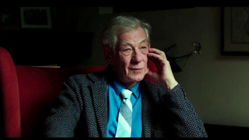 "Ian McKellen from the documentary movie, ""McKellen: Playing the Part."""