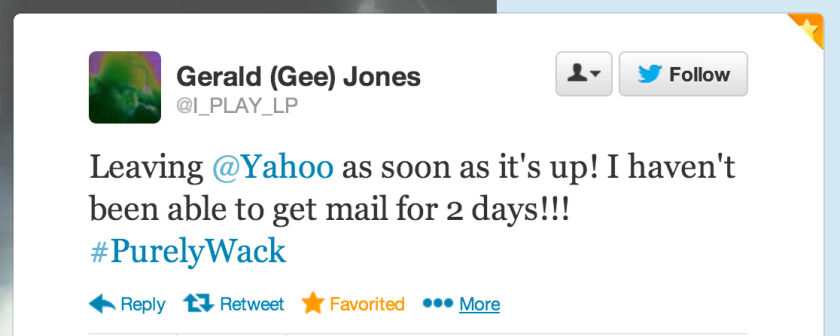 Yahoo Mail users are now threatening to leave.