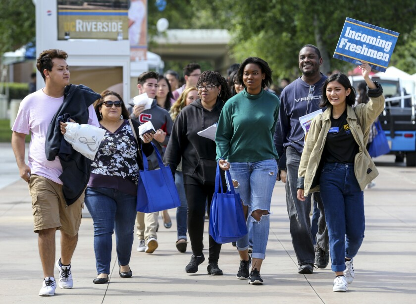 UC Riverside students