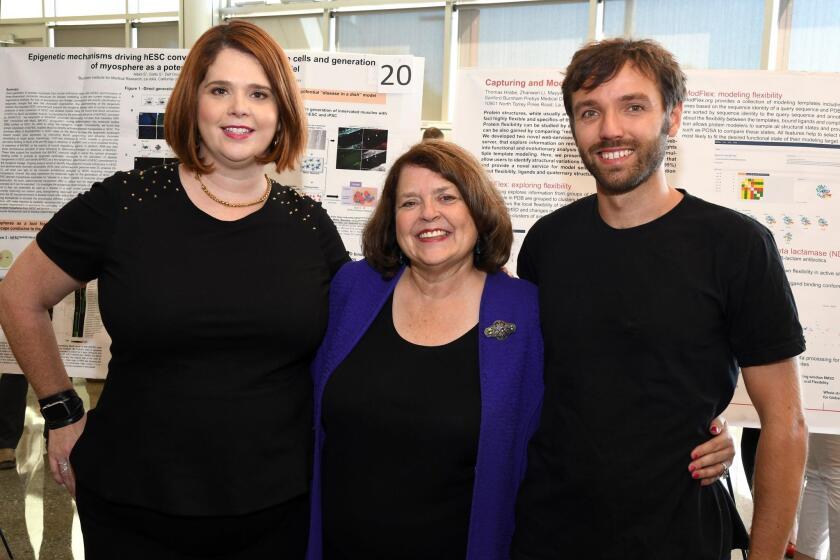 Jessica Cline, Laurnie Durisoe, post-doc Thomas Hrava, Ph.D.