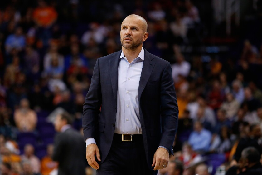 Lakers assistant Jason Kidd has been the head coach for the Brooklyn Nets and Milwaukee Bucks.