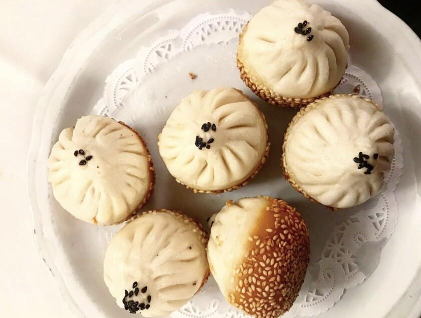 Sheng jian bao from Shanghai No. 1 Seafood