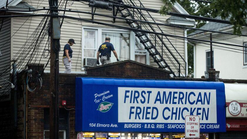 *** BESTPIX *** Investigation Continues Into Bombing In New York's Chelsea Neighborhood