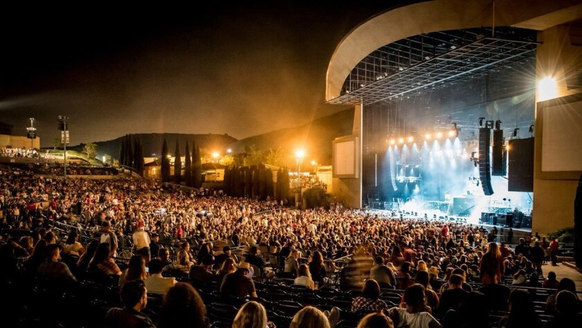 North Island Credit Union Amphitheatre, with a capacity of nearly 20,000, is San Diego's largest outdoor concert venue.