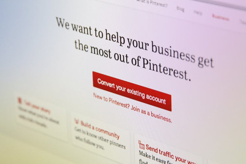 Pinterest announced new business-specific accounts Wednesday morning.