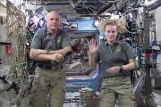 UT talks to space station crew