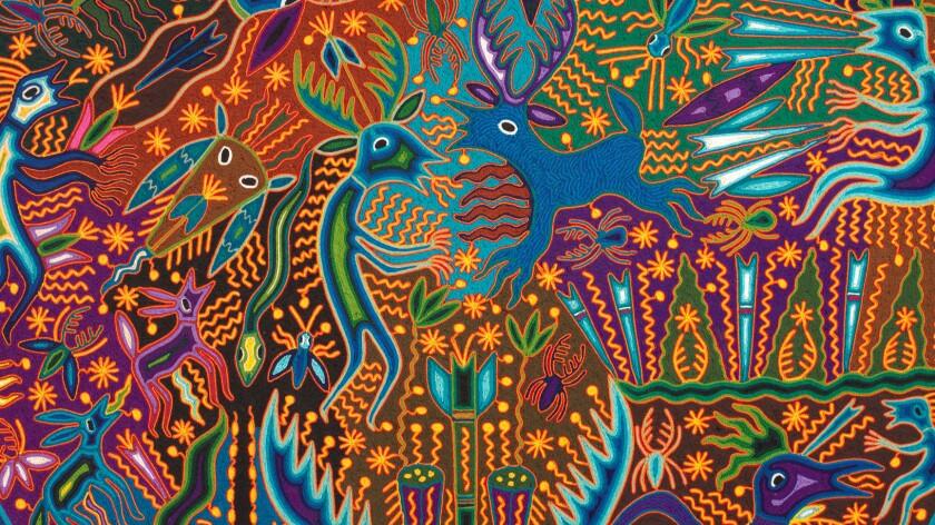 Detail of untitled work by Jose Ben'tez Sanchez, 2005 (shown full frame below).