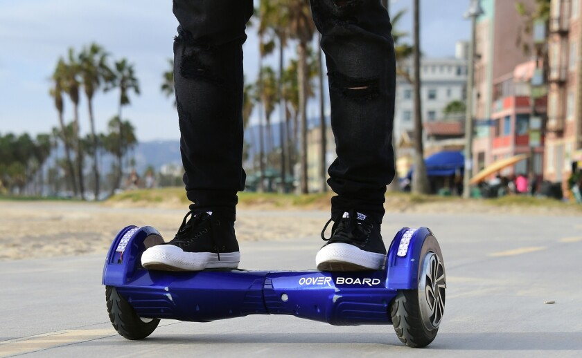 Why a federal regulator is warning about shipping hoverboards