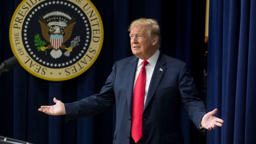 US President Donald J. Trump, Washington, USA - 27 Jun 2018
