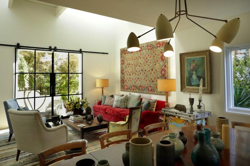 Noted interior designer Kathryn M. Ireland is selling her Santa Monica home herself.