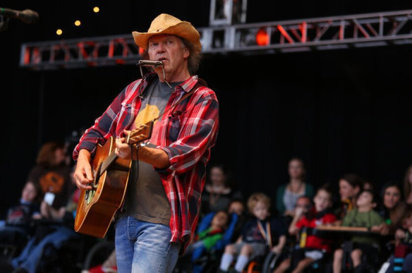 Neil Young on Twitter for live Q&A; with fans Wednesday