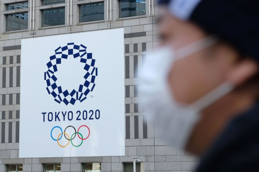 The International Olympic Committee says cancellation of the 2020 Tokyo Games, currently set to begin on July 24, is not on the table.