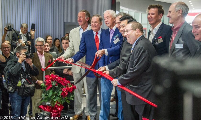 Ribbon cutting reopening ceremony