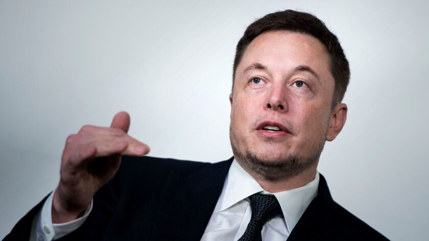 """Tesla Chief Executive Elon Musk set off a frenzy by tweeting that he planned to take the automaker private at $420 a share and had """"funding secured."""""""