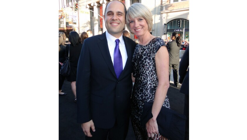 Local residents Craig and Melissa Mazin will receive the Spirit of Outstanding Service Award at the