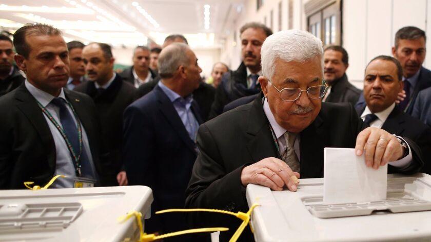 PALESTINIAN-ISRAEL-CONFLICT-POLITICS-VOTE-FATAH