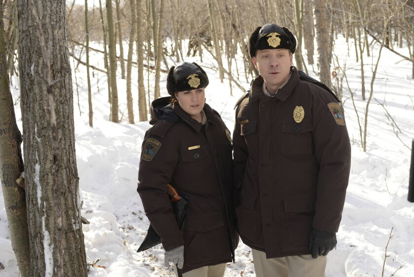 "Allison Tolman and Shawn Doyle star in ""Fargo."""