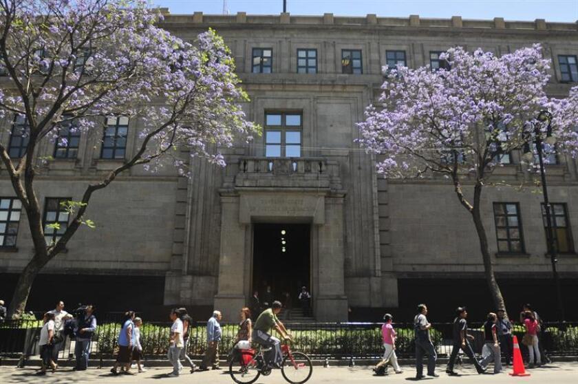 Aspecto de la Suprema Corte de Justicia en Ciudad de México (México). EFE/Archivo