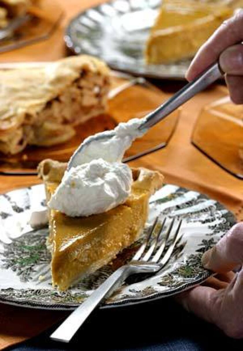 CLASSIC: Nothing beats pumpkin pie for Thanksgiving.