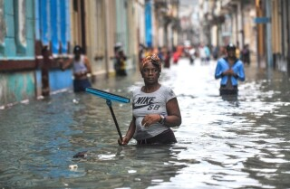 Relief efforts underway after Hurricane Irma ravages the Caribbean