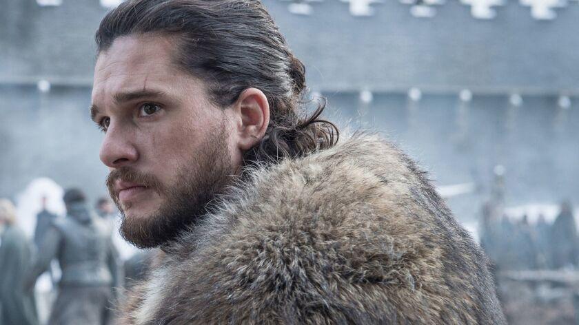 Kit Harington portrays Jon Snow