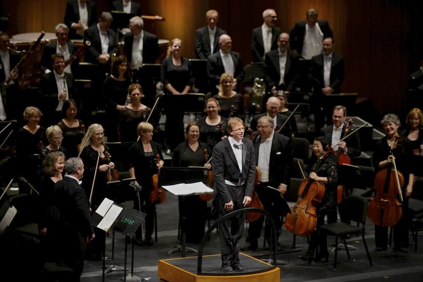 Long Beach Symphony music director Eckart Preu