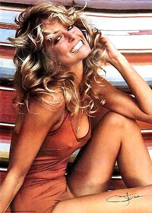 Farrah Fawcett became a generation's favorite pinup girl with this poster, one of the most enduring images of '70s pop culture.