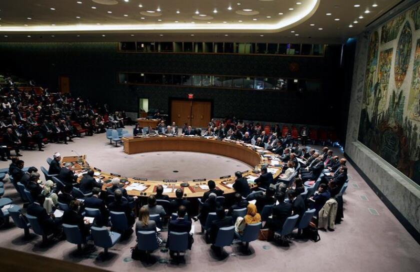 El Consejo de Seguridad de la ONU reforzó hoy las sanciones contra Corea del Norte en un intento por frenar el avance del programa nuclear del país asiático y en respuesta a su último ensayo atómico. EFE/ARCHIVO