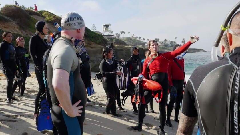 San Diego Council of Divers holds Three R's workshops on several of La Jolla's beaches.