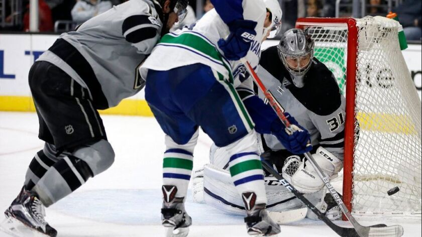 What we learned from the Kings' 4-3 loss to Vancouver on Saturday