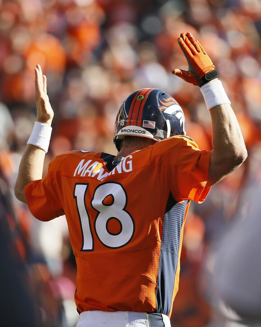 premium selection e9340 1e05f Chess match for Ryan, Jets vs. Manning, Broncos - The San ...
