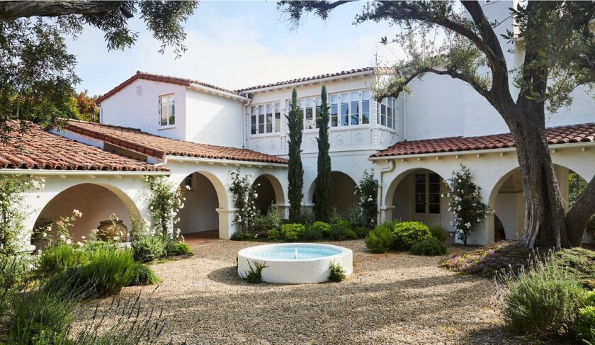 Katherine Power and Justin Coit's Spanish-style home