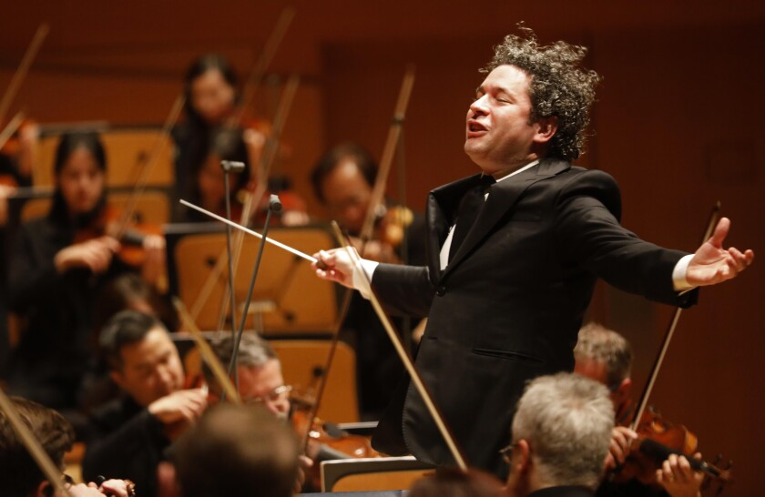 Gustavo Dudamel conducts the L.A. Phil in a program featuring Charles Ives and Antonín Dvorák.