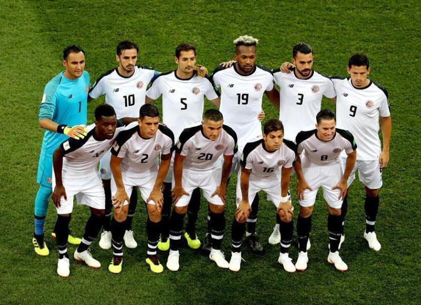 El equipo de Costa Rica en el Mundial Rusia 2018. EFE/Archivo