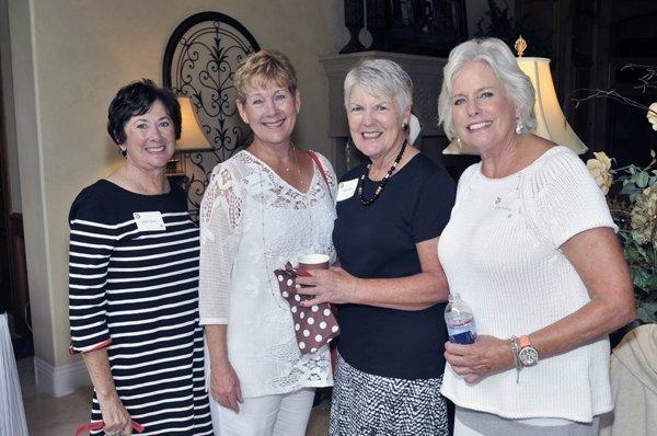 Ellen Glynn, Linda Saxon, Kathy Klink, June Toohey