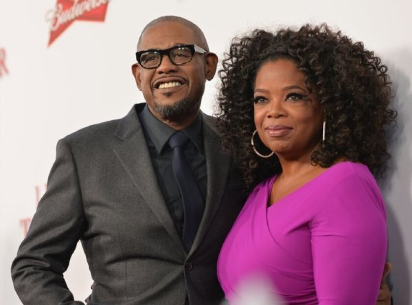 """Forest Whitaker and Oprah Winfrey attend the premiere of """"Lee Daniels' The Butler"""" in Los Angeles. The pair could be a fixture on the awards circuit this year."""