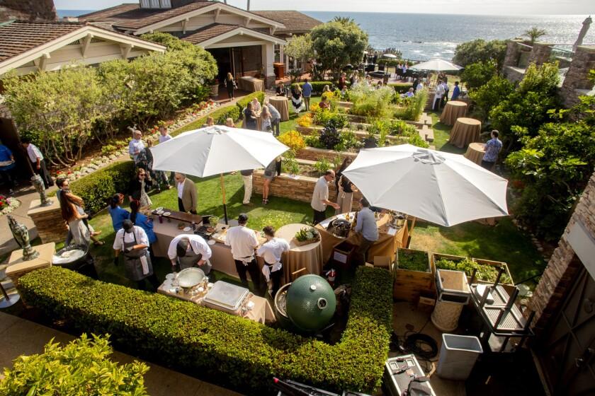 Montage resort in Laguna Beach