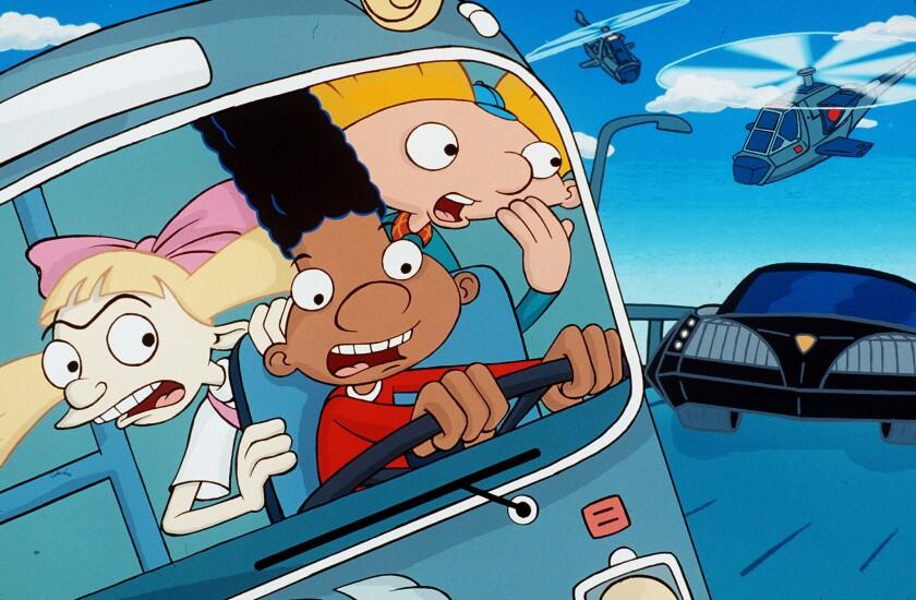 Nickelodeon announces 'Hey Arnold!' TV movie