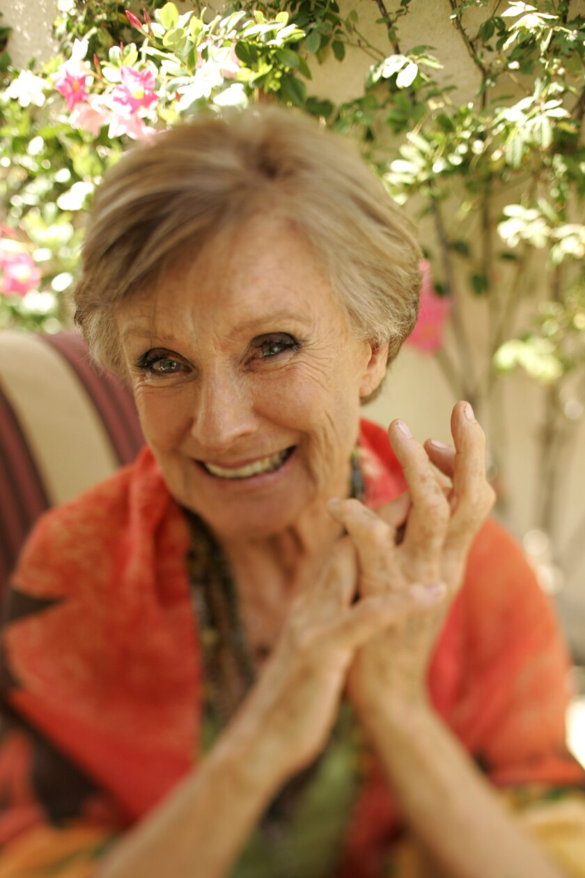 Actress Cloris Leachman photographed in her Los Angeles home.