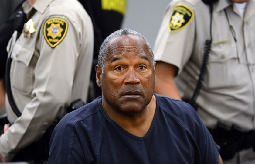 Knife found on O.J. Simpson property being tested by Los Angeles police