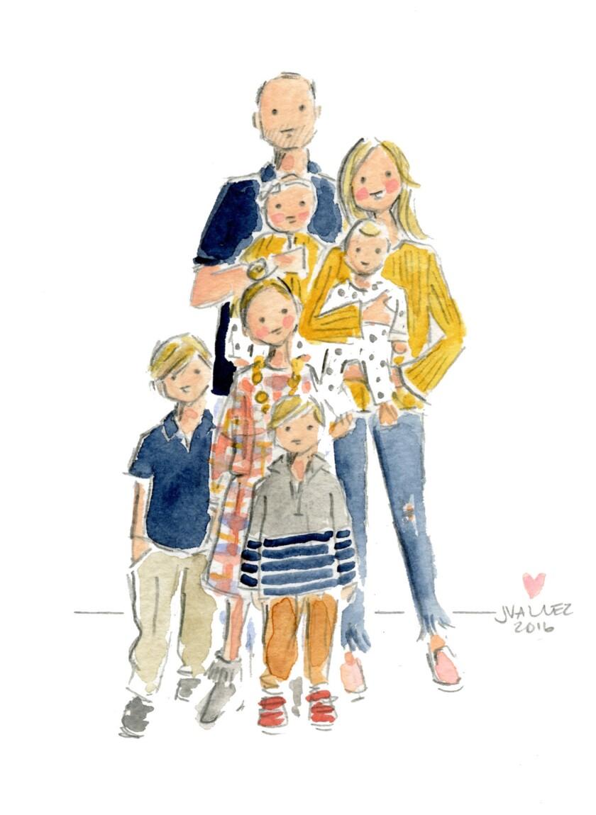 Sophie Lilli family art