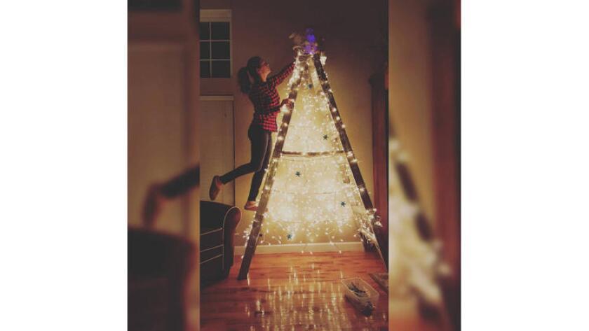 One idea: A ladder tree.