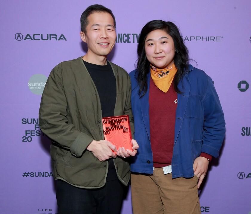 Lee Isaac Chung and Christina Oh