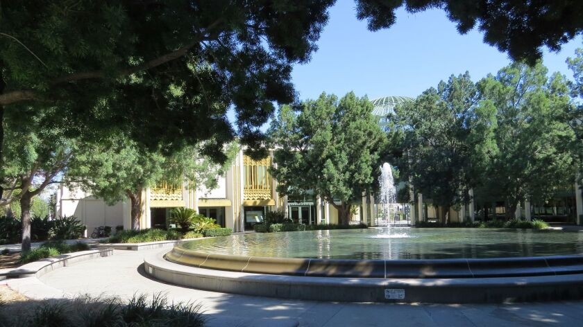 Escondido Council Chambers and City Hall
